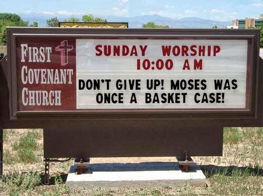 Funny Church Signs and Bulletin Bloopers | mediachecker
